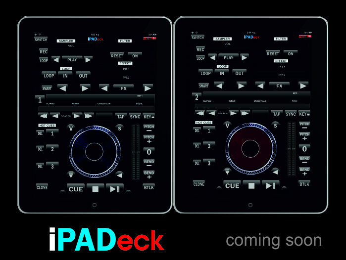 Midi Deck Ipad Decks With a Single Ipad