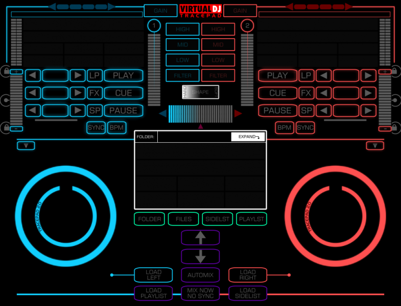 VIRTUAL DJ SOFTWARE - New iPad Skin == Need Beta Testers