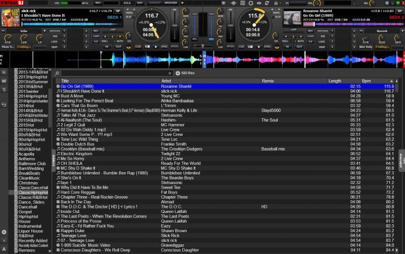 DJ Software - VirtualDJ - Serato Skin