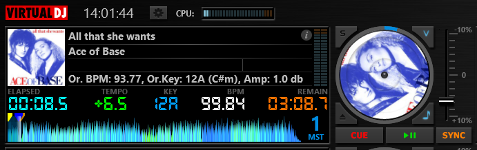 DJ Software - VirtualDJ - Please add default BPM view along with the