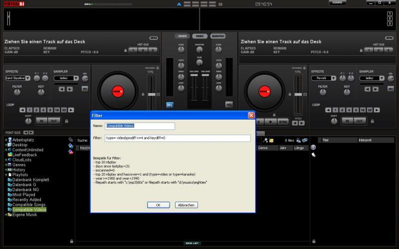 keycode virtual dj 8