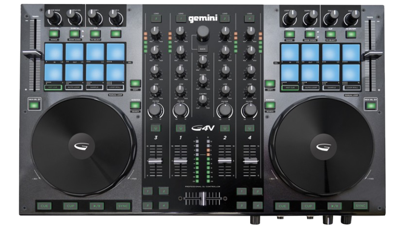 how to set up a controller to virtual dj