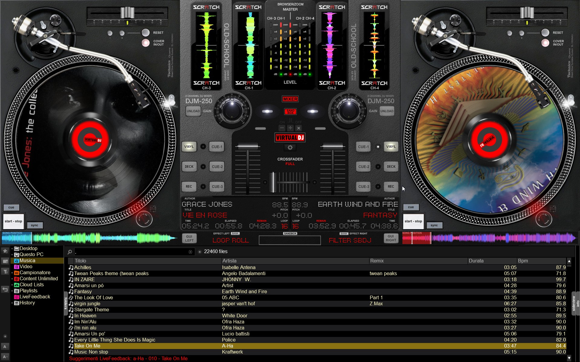 Download free virtual dj effects.